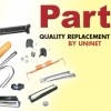Doctor blade End piece set for use in HP 4000 2200 2100 100 pack special order