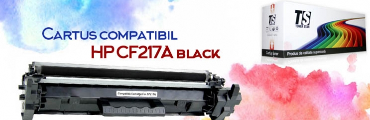 Cartus compatibil HP CF217A black